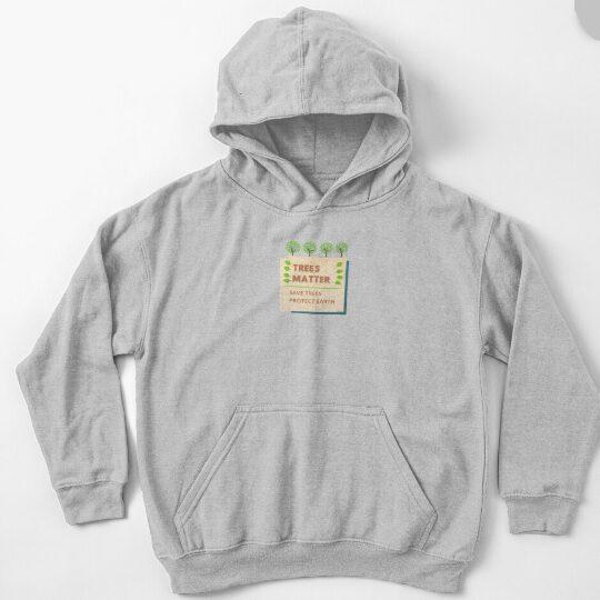 australia kid earth day pullover hoody
