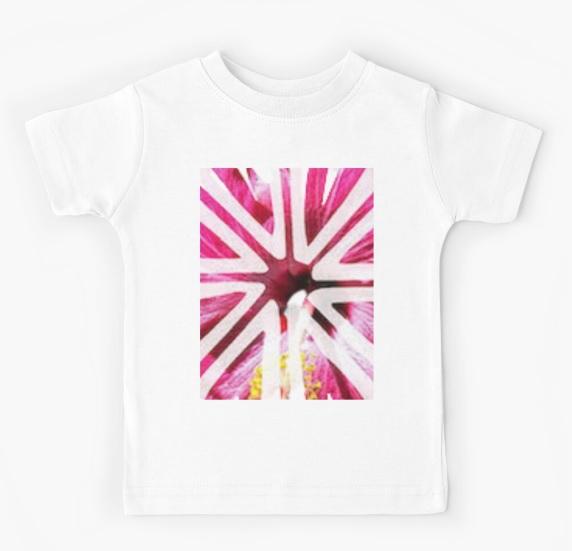 kid floral t shirt