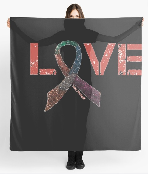 valentines scarf