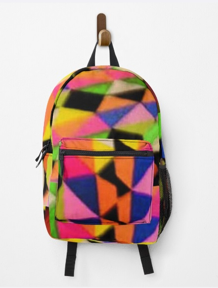 solid colored knapsack