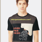 """cover your cough graphic print t shirt "" by holymaud 