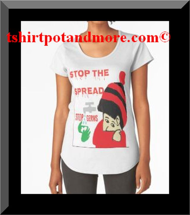 """stop the spread print clothing t shirts by holymaud 