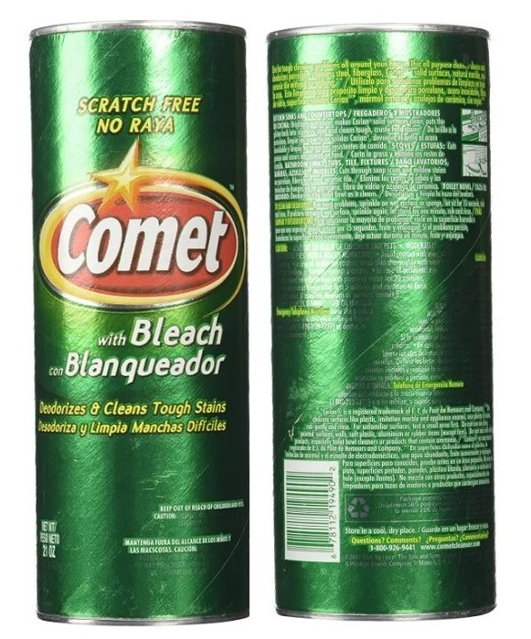 Comet With Bleach Image
