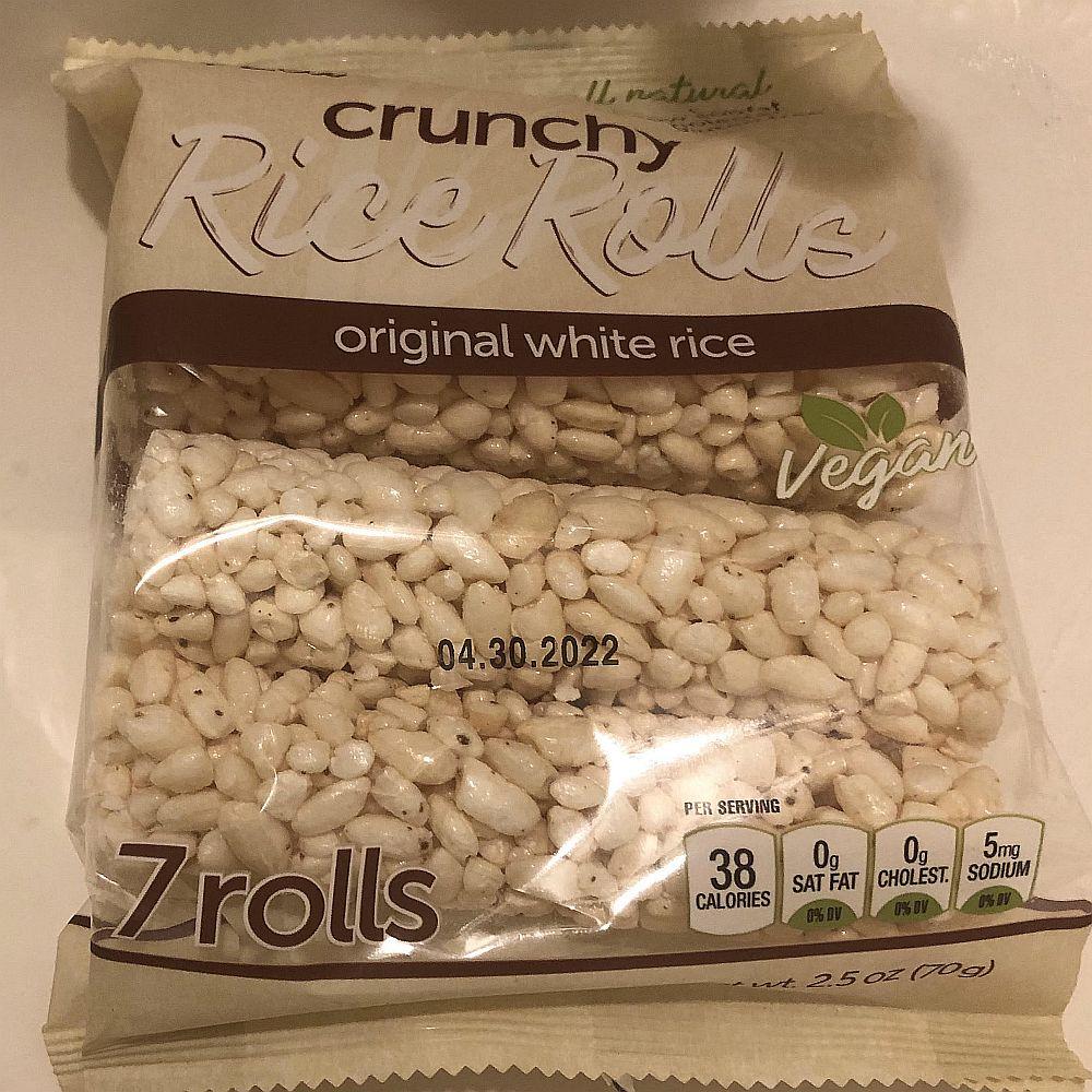7 Rolls Crunchy Rice Rolls