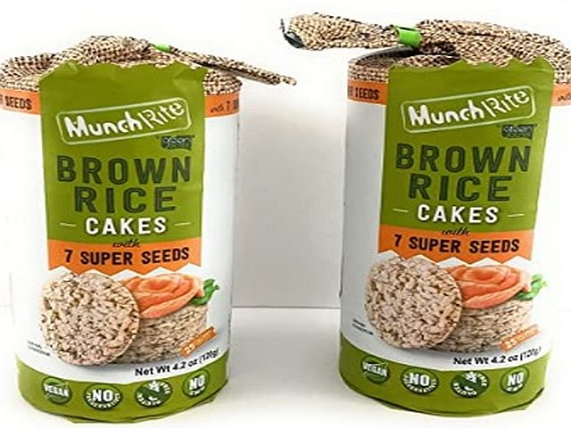 Munchrite Brown Rice Cakes With 7 Grains